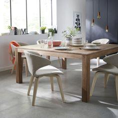 Fantine | Table à manger style indus - Alinéa | Salle à manger ...