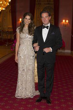 Jantar de gala pré-casamento da Princesa Madalena e Chris O'Neill