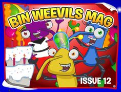 Click the link below and grab the code for this bin-tastic Bin Weevils official magazine issue #12 fan poster!  Check out the Weevily World Codes by Codex page for more great Bin Weevils secret mystery codes!