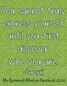 Discover who you are quote via www.Facebook.com/MyRenewedMind