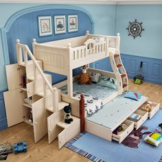 Super ideas for kids room themes girls bunk bed Box Room Bedroom Ideas, Teen Room Decor, Small Room Bedroom, Baby Bedroom, Bedroom Themes, Kids Bedroom, Teen Bedroom Designs, Bunk Bed Designs, Girls Bunk Beds