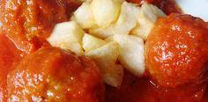 albondigas cn salsa de tomate