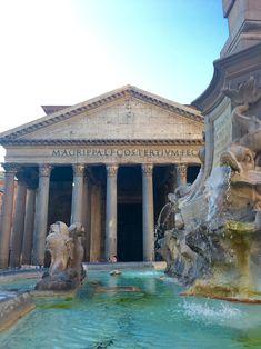 Wie Ihr Rom zu Fuß entdecken könnt - Unterwegs in Rom Dom, Gazebo, Outdoor Structures, Mansions, House Styles, Outdoor Decor, Highlights, Travel, Pools