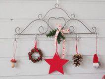 Fensterdeko Haken Weihnachten