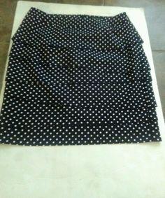 Women's White House Black Market Polka Dot Skirt Size 4 #BrandWhiteHouseBlackMarket #skirt