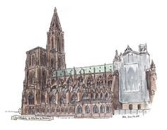 Pete Scully - Strasbourg Cathedral