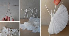 Delicate and artsy decoration for all ballet lovers;)!