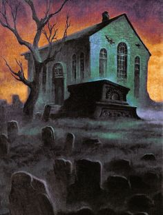 I might have a thing for classic horror Gothic Horror, Arte Horror, Horror Art, Horror Films, Spooky Scary, Creepy Art, Halloween Artwork, Horror Comics, Vintage Horror
