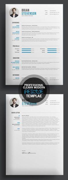 Creative Resume Template Creative resume templates, Template and - awesome resume templates