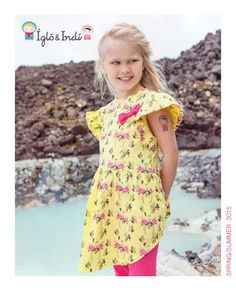 Ígló&Indí SS15 Catalogue; bright, colourful and I love this!