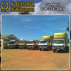 Albertinia Meubelvervoer will take your belongings safely to any destination in South Africa. As long as there is a road, we will take your load. South Africa, Transportation, How To Remove, Business, Store, Business Illustration