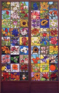 State Flower Community Quilt....Beautiful!