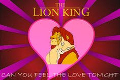 lion king in love - Google Search