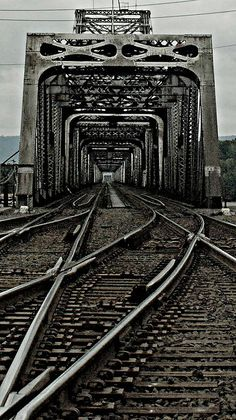 Railroad Tracks in Vancouver