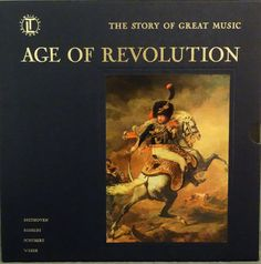 Age Of Revolution  Time Life 1966  Boxset of 4 LP by DorenesXXOO