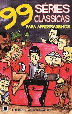 '99 séries clássicas de TV para apressadinhos' resume em apenas quatro quadrinhos algumas dos seriados mais amados da TV, como Friends, Alf, Desperate Housewives, Seinfeld, Barrados no baile e muito mais!