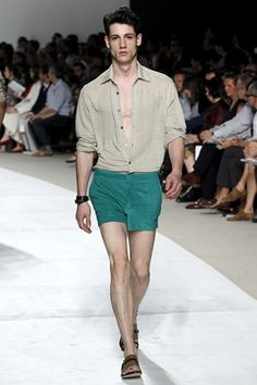 Hermès Spring 2011 Menswear