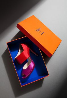 Mary & Clarks - Shoe Box Design