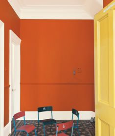interior colors forecast by paint and wallpaper company, Farrow & Ball.