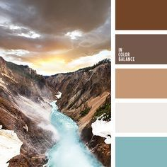 In the palette contains all shades of brown, even a neutral gray is a little dirty sand plaque. Real explosion apprehended inclusion sunny yellow fragment for equilibrium which requires at least a strong-sounding color turquoise. The combination is perfect in everything that has to do with successful business people - in clothes, in the interior of the cabinet.