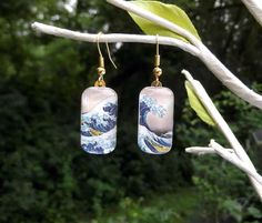 Hey, I found this really awesome Etsy listing at https://www.etsy.com/listing/75482499/great-wave-earrings-hokusai-art-earrings