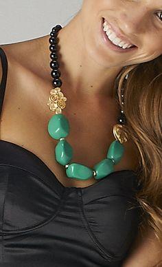 #green #necklace on www.shoppublik.com