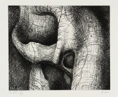 Henry Moore OM, CH 'Elephant Skull Plate XXV', 1970 © The Henry Moore Foundation, All Rights Reserved, DACS 2014