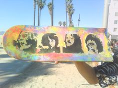HAND PAINTED The Beatles Let it Be Broken by samanthapayntr