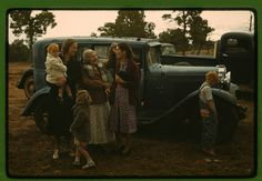 Friends meeting at the Pie Town, New Mexico Fair. 1940 Oct. Library of Congress.