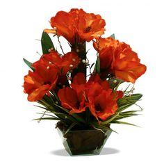 Arranjo de Flores Amarilis 30x20 cm