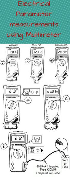 ‪#‎Multimeter‬ ‪#‎VoltageandTemperature‬ ‪#‎Measurements‬ Want to know how multimeter measures electrical parameters like Voltage,Capacitance,continuity, resistance etc? If yes then immediately follow the link given below and measure all parameters easily. http://analyseameter.com/2015/09/how-to-use-a-digital-multimeter.html
