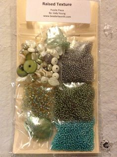 Bead Embroidery Kit by BeyondBeadsGallery on Etsy