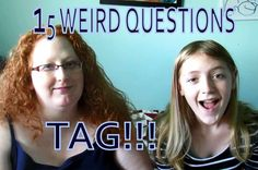 Welcome to the 15 Weird Questions Tag! This was a fun video to film - we had lots of LAUGHS! We tag all of our viewers to do this tag as. Youtube Tags, Weird, Film, Movie, Film Stock, Cinema, Films