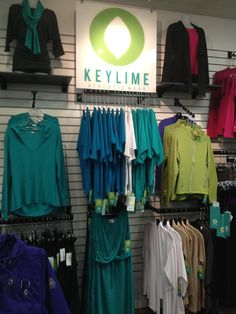 Visual Merchandising at KEYLIME, lead by Flourish Design & Merchandising.  Retail design, shop, display.