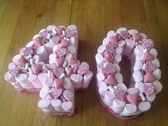 40 sweetie cake