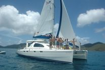 Riding the Cat in the BVI  #sailing, #teenscubacamps