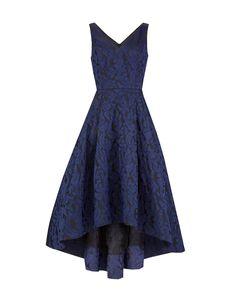 Dresses : Midnight Jacquard Dress