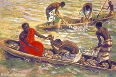 Peter and jesus african christian art Black Jesus, African American Culture, Biblical Art, Faith Bible, Bible Art, Christian Art, Gods And Goddesses, Black Art, Black Gold