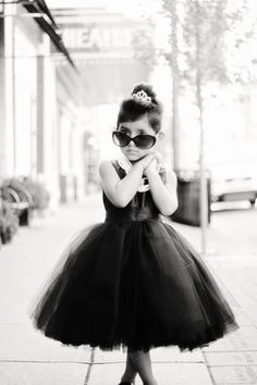 I couldn't resist pinning this for you - Breakfast at Tiffany's -Kid style @Taylor Ferguson