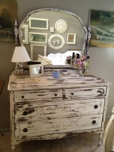 5023 Creations: My Expierence with MMS Milk Paint & a 1930's Dresser