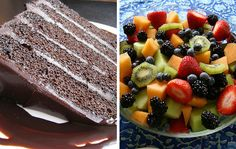 Would you choose chocolate cake or fruit salad? Your decision making process may be more complicated than you realize.
