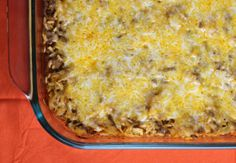 "Poor Man Layered Cabbage Casserole |RecipeLion.com Use cauliflower ""rice"" instead to make it low carb"