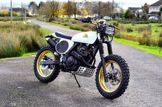 honda nx 650 custom | Honda NX650 Dominator StreetTraker by Andrew Greenland - Lsr Bikes