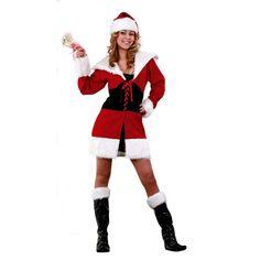 0ae1dc6da8113 Déguisement Mère Noël  déguisementsnoël  costumespournoël Deguisement Noel