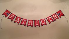 Nfl New England Patriots Banner 6 1/2 ft Photo Backdrop Party Deco Birthday Anniversary Wedding Baby Shower handmade new by SportsNutz on Etsy