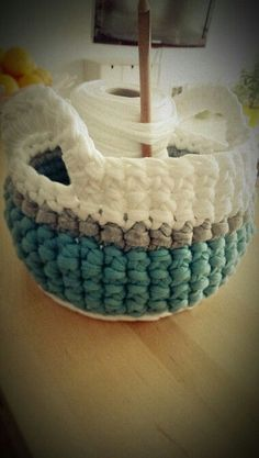 crochet basket   Crochet basket   Crochet - general