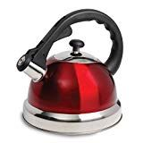 The Claredale Qt. Whistling Tea Kettle will help you get your favorite hot beverages ready effortlessly. This dome shape tea kettle is made of high quality and durable stainless steel to resist rust and stains for a long-lasting sheen. Cast Iron Cookware, Stainless Steel, Cool Stuff, Tea Kettles, Red Kitchen, Kitchen Dining, Kitchen Stove, Kitchen Small, Quartos