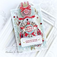 Artisant Merry Christmas Wishes, Christmas Tag, Prima Planner, Halloween 6, Beautiful Christmas Cards, Heidi Swapp, On October 3rd, Christmas Inspiration, Cardmaking