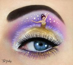 Funny Eye Makeup-Creations inspired by Iconic Movies, Pop Culture and Fairy Tales