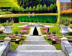 Annevoie Gardens, Belgium